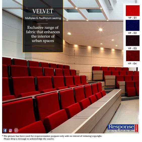 auditorium fabrics manufacturers in India
