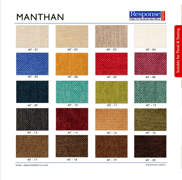 Auditorium fabric manthan range