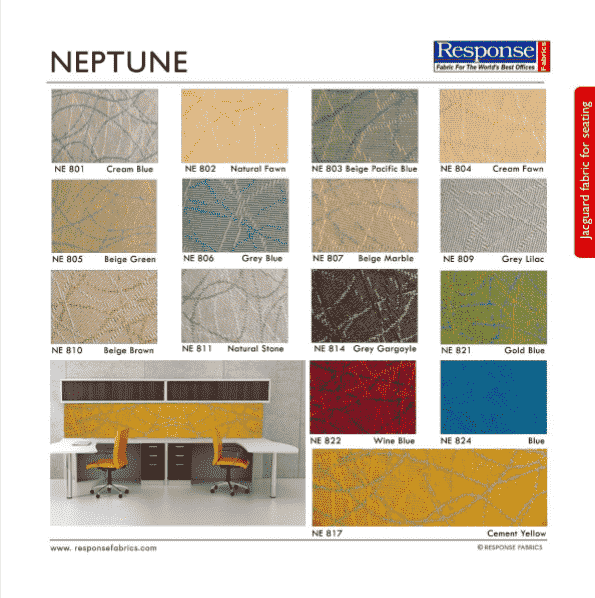 neptune fabric for workstation fabrics
