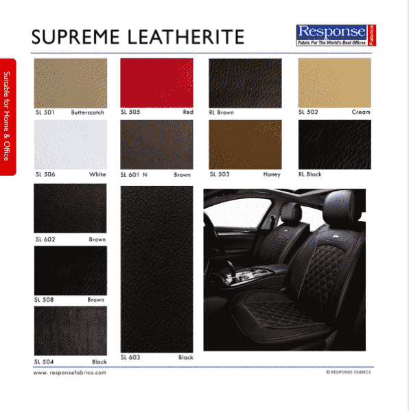 supreme leatherlite fabric