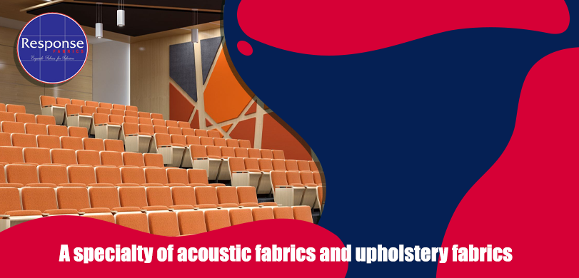 acoustic fabrics and upholstery fabrics