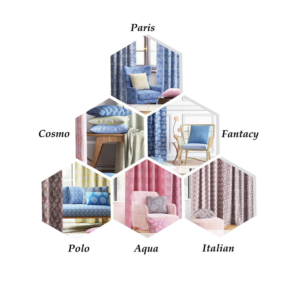 readymade curtains ranges
